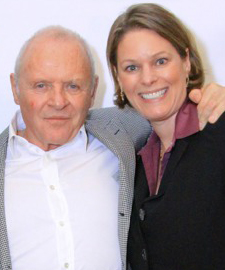 Roberta Ross & Anthony Hopkins